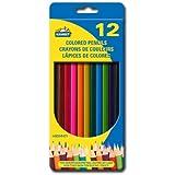 12 Colored Pencils, Pre sharpened