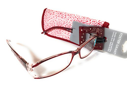 Quality 2.75 Foster Grant Reading Glasses with Protective Case