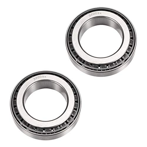 uxcell 32009X Tapered Roller Bearing Cone and Cup Set, 45mm Bore 75mm OD 20mm Thickness 2pcs