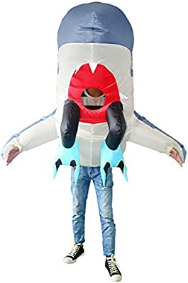 DYHOZZ Ropa Inflable Divertida Street Performance Costume Shark ...