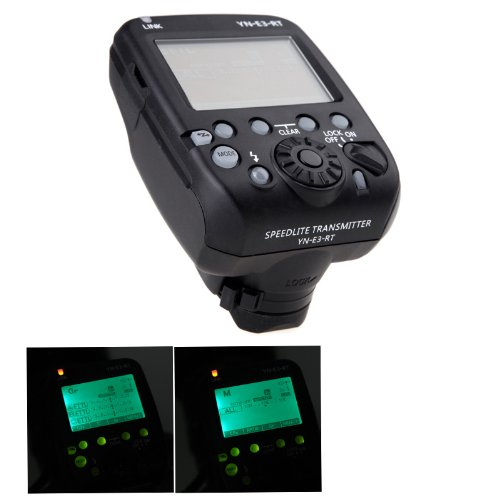 GigaMax(TM)NEW YN-E3-RT Yongnuo Flash Speedlite Transmitter Compatible with 600EX-RT for Canon DSLR Camera