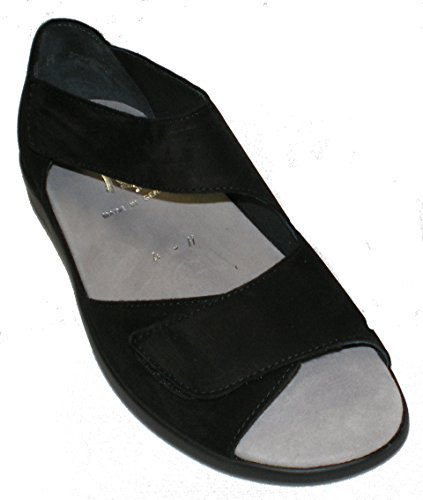 Semler B9015-040-001 Brigitte Femme Sandales Largeur H Noir 6QSt2