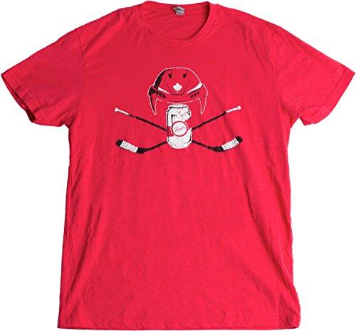 Canadian Beer League Hockey | Canada Pride, Maple Leaf Unisex T-shirt