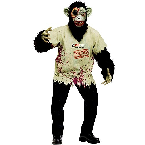 Zombie Chimp Costume - Mens