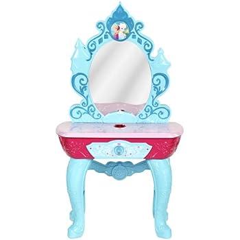Amazon Com Disney Princess Sparkling Light Amp Sound Vanity Set Toys Amp Games
