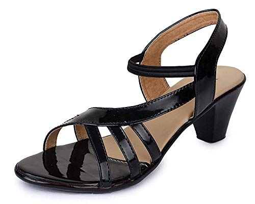 TRASE 43-047 Women's Kitten Heel Sandal – 2 Inch Heel