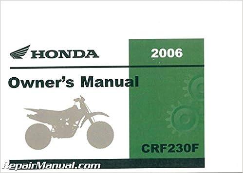 crf230f service manual download