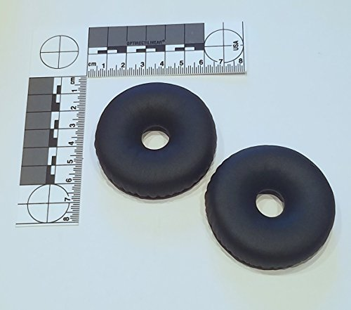 Replacement Leatherette Ear Pads (Compete Audio TLX80 Replacement Ear Pads for Telex Airman 850 Leatherette Ear Cushions (Replaces Part 800456-020))