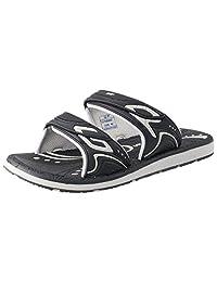 GP Double Adjustable Strap Outdoor/Water Slide Sandals for Kids, Women & Men (Size: T10 & up)