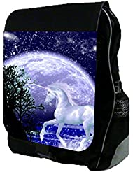 Rosie Parker Whimsical Unicorn in The Moonlight School Backpack