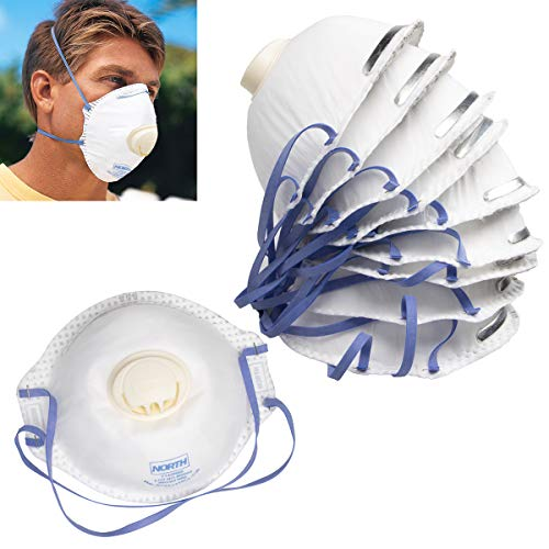 NORTH SAFETY 7140N95 N95 PARTICULATE DISPOSABLE RESPIRATOR - WHITE BOX/10