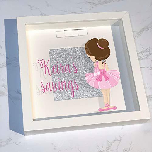 Bailarina de ballet, marco de 25 cm x 25 cm, regalo de ...