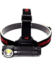 ThruNite TH30 Super Bright 3350 lumens Rechargeable LED Headlamp with IMR 3100mAh 18650 included for Outdoor and Indoor Using, hiking,camping, cycling