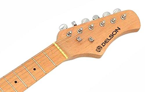 Kit de guitarra el/éctrica color negro DELSON STARSINGERBK