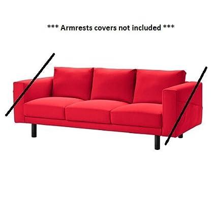 IKEA norsborg - Funda protectora para sofá de 3 plazas ...