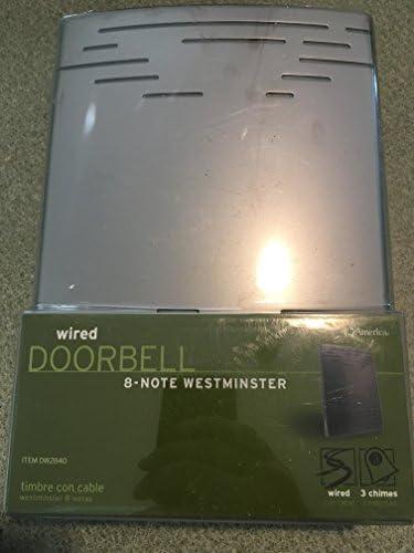 [해외]IQ AMERICA DW-2840 Wired Elec Sn Chime / IQ AMERICA DW-2840 Wired Elec Sn Chime