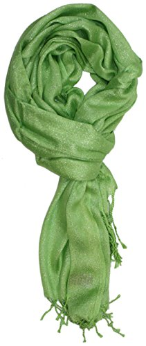 Ted and Jack - Hollywood Dreams Sparkling Metallic Scarf (Lime)