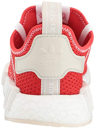 adidas Originals Men's NMD_R1 Running Shoe, Active red/Ecru Tint, 4.5 M US by adidas Originals (Image #2)