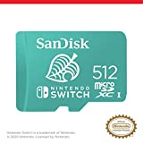 SanDisk 512GB microSDXC-Card, Licensed for