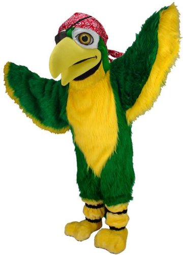 Polly the Pirate Parrot Lightweight Mascot Costume