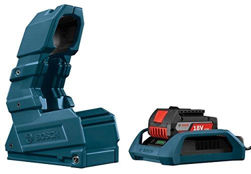 Bosch WC18CHF-102 18-Volt Wireless Charging Starter Kit with 18-Volt Wireless Charger, Holster and 18-Volt 2.0 Ah Wireless Battery