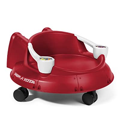 Radio Flyer Spin N Saucer Red by Radio Flyer