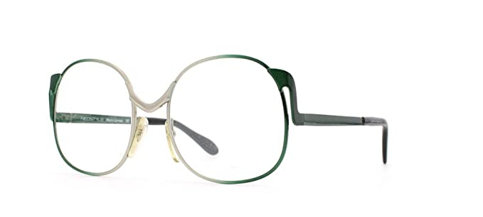 ab3075006f1 Neostyle Society 125 839 Silver and Green Authentic Women Vintage  Eyeglasses Frame