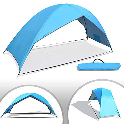 Portable Beach Tent Sun Shade Shelter Hiking Travel Camping Outdoor Napping Canopy 2 Persons