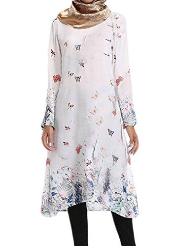 arab white dress - 4