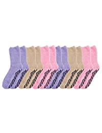 Non Skid Socks - Hospital Socks - 6 Pack