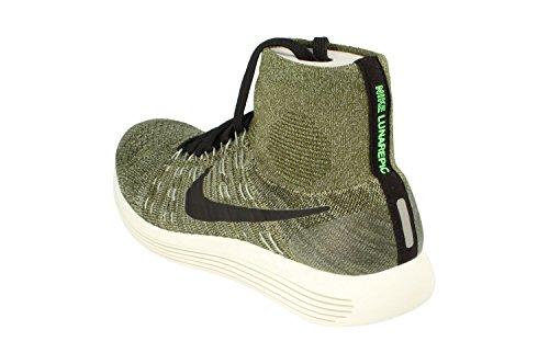 Nike Mens Lunarepic Flyknit Löparskor Grov Grön Svart Glimmer Grön 303