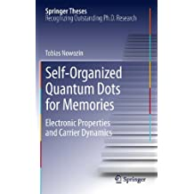 Self-Organized Quantum Dots for Memories: Electronic Properties and Carrier Dynamics (Springer Theses)