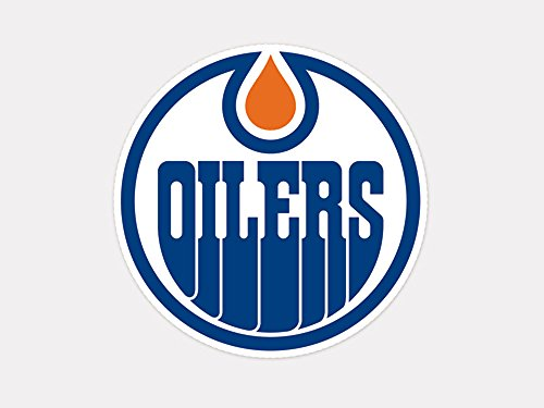 "NHL Edmonton Oilers Perfect Cut Color Decal, 4"" x 4"""