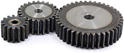 FLY MEN 1PC 2.5M 34Teeth Spur Gear Carbon 45# Steel Micro Motor Transmission Parts Gear Box Mating Parts CNC Robot Accessories