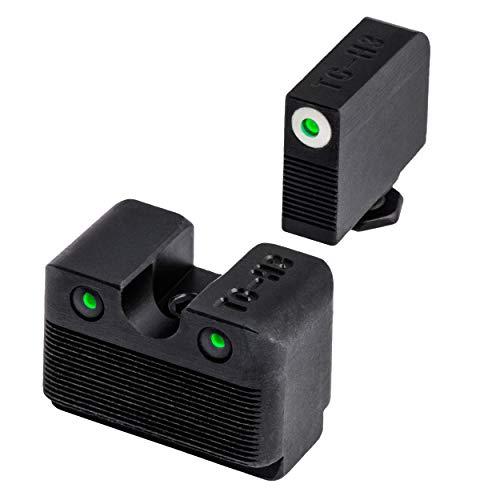 TRUGLO Tritium Pro Glock MOS Low Set Night Sight, Black