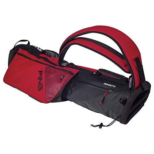 Ping 2018 MOONLITE 181 CARRY GOLF BAG 03 RED by Ping (Image #1)