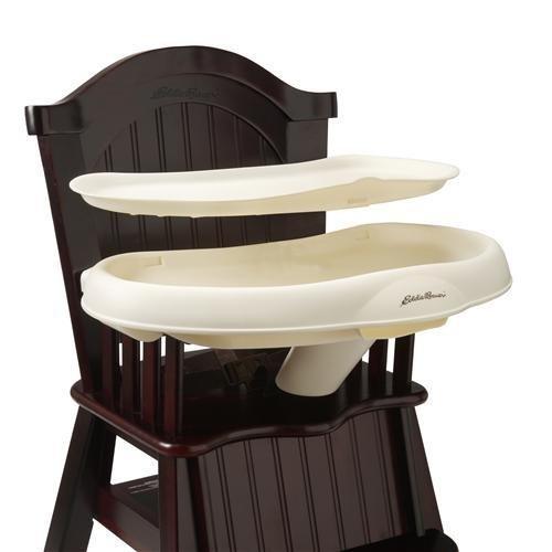 Eddie Bauer Wood High Chair Michelle Cherry Wood