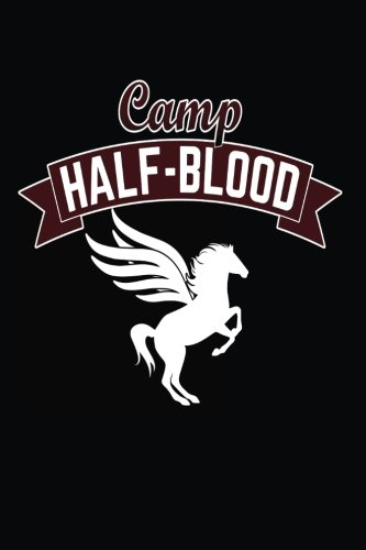 Camp Half Blood  Winged Unicorn Graphic Notebook