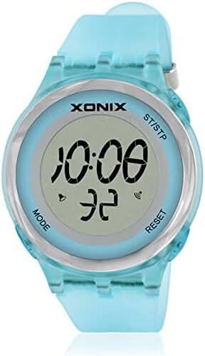 LEDMultifunctional waterproof girls, fashion digital watch-B