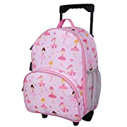 Wildkin Kids Rolling Luggage for Boys and Girls, Carry on Luggage Size is Perfect for School and Overnight Travel…