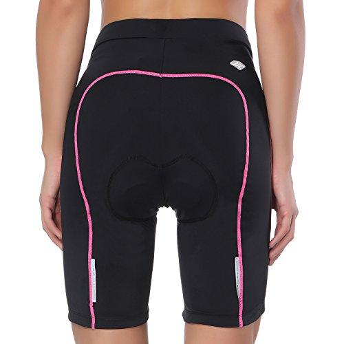 ciclismo Pink 3D Santic donna imbottiti shorts shorts Bike 8OW1Rqx