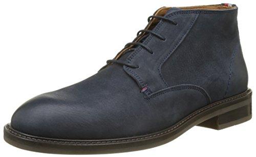 Hommes Hilfiger R2285ounder 3n Oxford Chaussures Richelieu À Lacets Bleu (minuit)