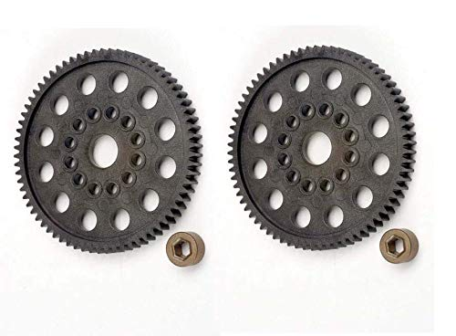 (Set of 2 Traxxas T-maxx .15 2.5 72t 72 Tooth Spur Gear 32P Nitro Rustler 4472)