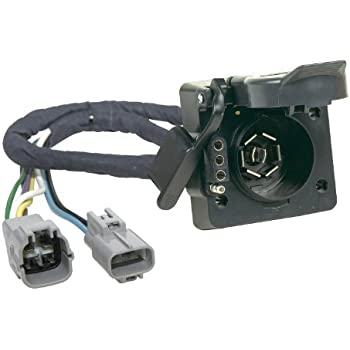 41wxUGeiezL._SL500_AC_SS350_ amazon com hopkins 11143395 plug in simple vehicle to trailer toyota tacoma oem trailer wiring harness at reclaimingppi.co