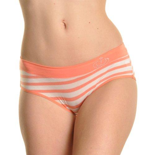 Angelina 12 Pack Soft Modal/Spandex Bikini Panty /w Rhinestones, #1384