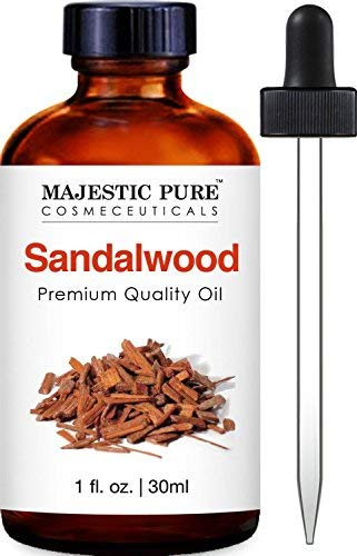 Majestic Pure Sandalwood Oil - Premium Quality Fragrance Oil - 1 fl oz ()