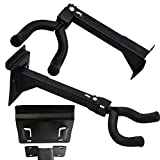 BlueDot Trading two-long-guitar Adjustable Guitar and String Instrument Hanger Mount, Pack of 2