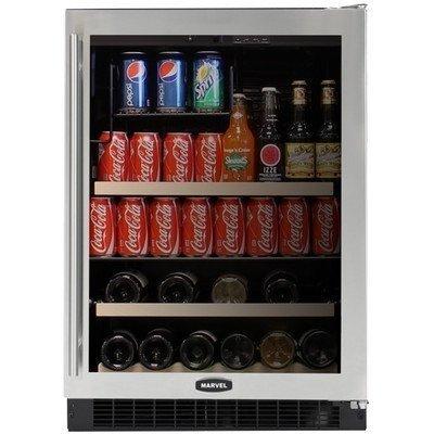 14 Bottle Dual Zone Wine Refrigerator Finish: Black Cabinet
