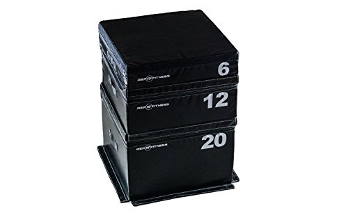 Jump Combo - Rep Foam Soft Plyo Boxes - 6 inch, 12 inch, and 20 inch Combo Set