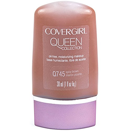 (CoverGirl Queen Collection Liquid Makeup Foundation - Spicy Brown (745))